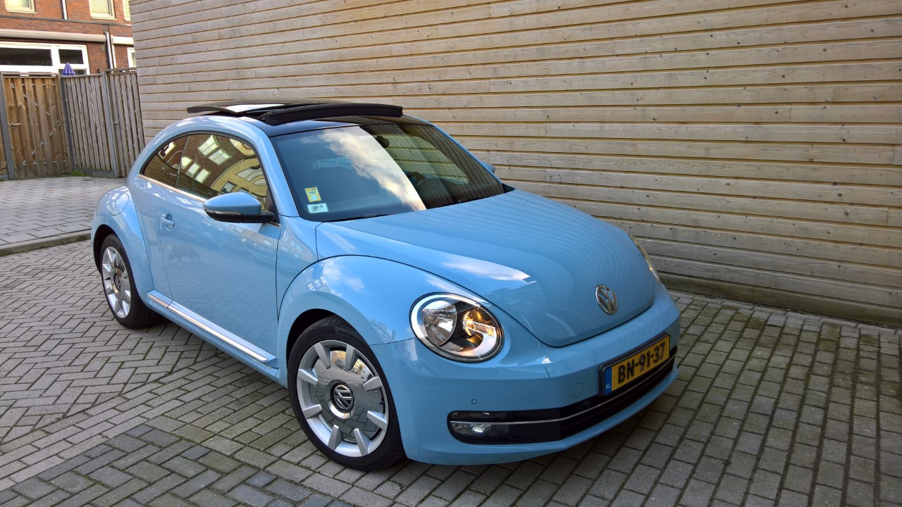 Beautiful Denim Blue Vw Beetle Design For As New First Owner Bought In 2017 No Damage Only 33 000 Km Tdi 2 0l Sel Engine With Great Dsg Dual